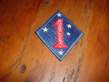 1st marine Guadalcanal Patch 3x3.5in