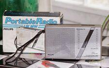 Poste portable radio Philips type D 1026 vintage