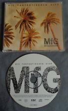 DIE FANTASTISCHE VIER MfG Mit Freundlichen Grüßen CD MAXI SINGLE 7 tr. 1999 Rap
