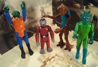 VINTAGE 1978 STAR WARS ~WALRUS MAN, SNAGGLETOOTH, HAMMERHEAD & GREEDO~ HK 1970's