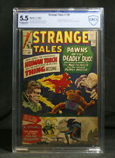 Strange Tales #126 – Graded 5.5 by CBCS (not CGC) – 1st Dormammu Appearance