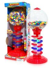 Gumball Vending Machine With Stand Spiral Bank Lighted Gum Dispenser Candy New