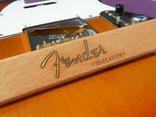 Replacement for Fender Telecaster Decal 50´s Vintage Style (Metallic Gold Logo)
