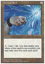 Crystal Rod x4 FINE PLAYED 5th Edition MTG Magic Cards Artifact