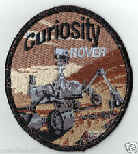 "MARS CURIOSITY ROVER - 4"" ORIGINAL AB EMBLEM - SPACE PATCH - MADE USA"