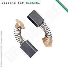 Kohlebürsten Kohlen Motorkohlen für Hitachi CR 12 V 7x11mm Typ 999-043