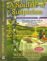 A Souffle of Suspicion: A French Bistro Mystery--Daryl Gerber (2018, HB, 1st Ed)