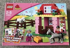 Lego Duplo 10500 Horse Stable - Retired Product (preloved)