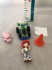 Paquete De Figuras De Juguete Story Disney Hamm Buzz RC coche Jessie Cono Cake Topper Tamaño