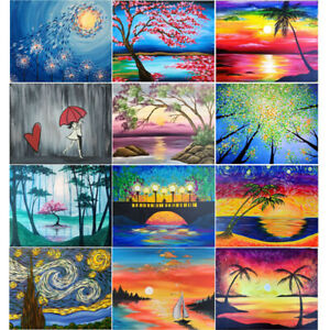 Scenery Full Drill 5D Diamond Painting Embroidery Cross Stitch Kit Home Decor