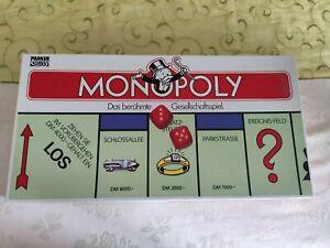 Altes MONOPOLY Spiel von Parker in DM Version (1985) Classic