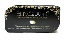 BLINGGUARD Blingdots 90-Pack Disposable Earring Supports Stabilizers