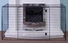 Nursery Fire Guard Black Safety Fireplace Extendable Child Kid Inc FREE Postage
