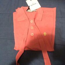 MONCLER Shirt Cotton 100% Authentic Pink  Sz XS NWT MSRP: $189.00 RARE