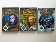 World Of WarCraft (PC/Mac, 2005, DVD-Box) 3x Set: Vanilla - Burning - Wrath Game