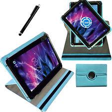 360° 10 Zoll Tablet Tasche für Samsung Galaxy Tab A6 SM-T580 T585 Hülle Türkis