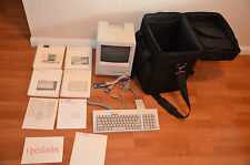 Macintosh SE with accelerator card, SD floppy device and extras