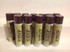 Lot Of 12 Hemp Lip Protection & Moisturizing Lip Balm New  Fresh Sealed