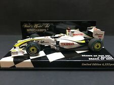 Minichamps - Jenson Button - Brawn GP - BGP001 - 1:43 - Brazil GP - Rare