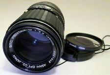 PENTAX 135mm f3.5 Manual Focus Lens Lens adapted SONY E cameras NEX ILCE α6300