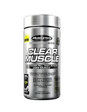 MUSCLETECH CLEAR MUSCLE 168 CAPSULES 1000MG - BUILDS LEAN MUSLCE