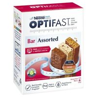 OPTIFAST VLCD Assorted 6 Pack 400g (2 x Chocolate, Cereal & Cappuccino Bars)
