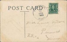 Laura Wilson. Pennock, Minnesota 1908    JD394