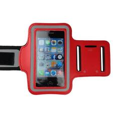 Red Sports Armband Running Gym Exercise Case for Apple iPhone SE 5S 5C 5 4S
