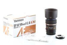 Objektiv Tamron Sp Af 90mm F/2,8 Macro für Sony ein Reittier / Minolta Garanti 6