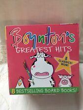 Boynton's Greatest Hits 8 Board Books Boynton a to Z Doggies Opposites Mor