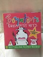 Boynton's Greatest Hits 8 Board Books NEW Boynton a to z, doggies, opposites mor