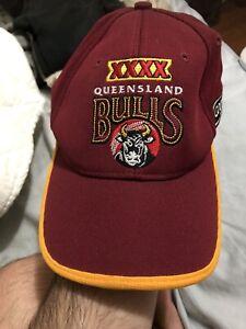 Queensland Bulls Hat. Official Licensed Cricket Australia Merchandise