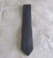 Polo Ralph Lauren Italy Plaid Cotton Men's Tie Indigo/Black 56x3  $125.00 NWT