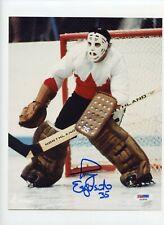 Tony Esposito Signed Canada 8x10 Photo PSA Auto Photograph LST853