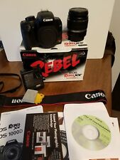Canon Rebel XS DSLR EOS Camera with EF-S 18-55mm Zoom Lens