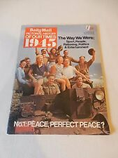 Daily Mail Pictorial History Series WW2 1945 'The Way We Were' Good Plus