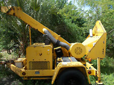 Woodchuck Woodchipper Wc 12 Wood Brush Chipper With Diesel Engine Runs Great