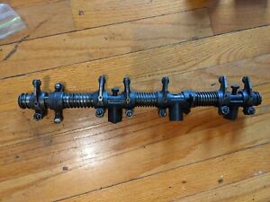 Datsun Roadster R16 Upper Rocker Arm Assembly Towers Core and Parts 1600