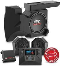 MTX RZRSYSTEM2 Two Speaker, Amplifier, Subwoofer Polaris RZR Audio System