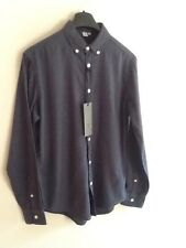 "MENS FIRETRAP NAVY SHIRT L (chest 46-48"")BNWT"