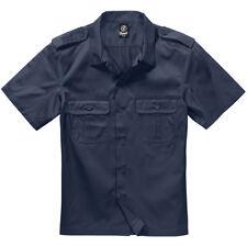 Brandit camisa casual hombre militar manga larga US Hemd 1/1 brazo beige XL