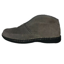 UGG Australia Men's Slippers Suede with Sheepskin Ankle Boot Mens Sz 8
