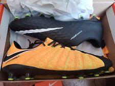 online store 3a956 8a267 Nike Hypervenom Phantom III 3 AG Pro Size 12 Orange Black 852566-802