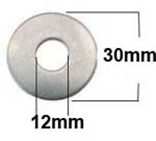 M12 x 30 Stainless Steel Mudguard,Repair,Penny Washers (12mm x 30mm x 1.5mm) x25