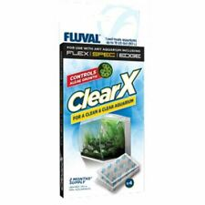 Fluval ClearX Filter Media (4 Pack) GreenX Phosphate Nitrite Nitrate Fish Tank