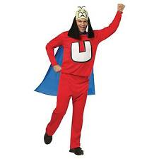 Underdog Adult Mens Funny Superhero Fancy Dress Costume With Cape One-size