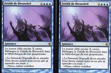 MTG Magic - Mirrodin Assiégé - Zénith de Bleusoleil X2  -  Rare VF