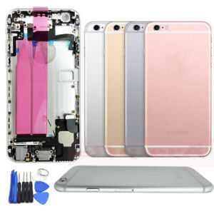 Metal Housing Battery Case Back Cover Frame Assembly For iPhone 6 6p 6s 6s plus