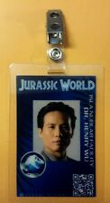 Jurassic Park/ World ID Badge - Dr. Henry Wu costume prop cosplay