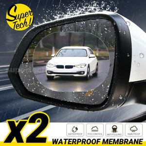 2/4 Car Rear Mirror Waterproof Anti-Fog Film Side Window Glass Films Rain-Proof